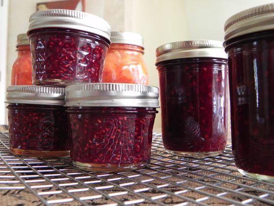 Raspberry Jalapeño Jam - Sweet and Spicy - Feeding Big