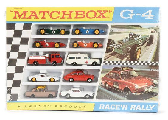 Matchbox Regular Wheels No G4 Race N Rally Gift Set Comprising