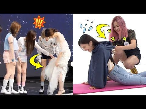 Kpop Female Idols Protecting And Helping Others From Wardrobe Accidents Youtube In 2021 Helping Others Movie Posters Movies