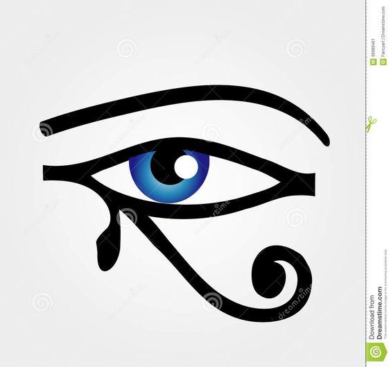 L'occhio Di Horus Illustrazione Vettoriale - Immagine: 66989461
