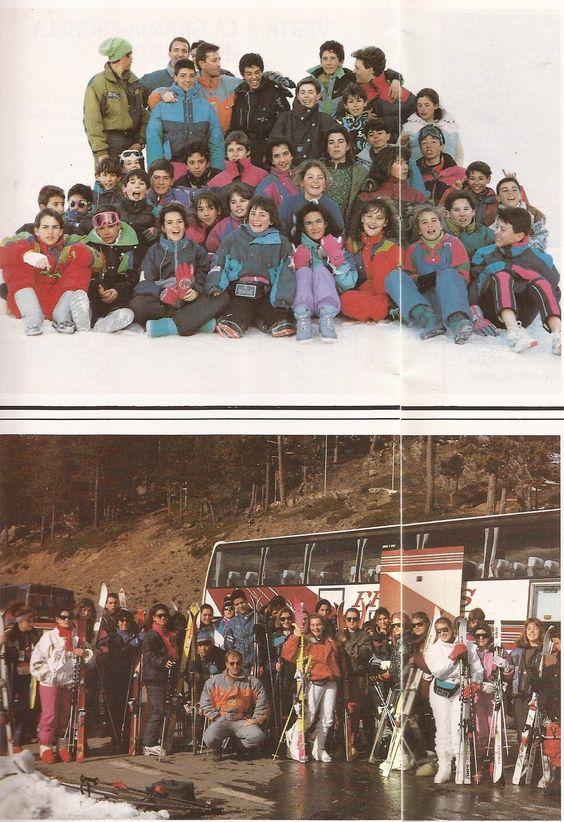 Viaje Nieve 1991