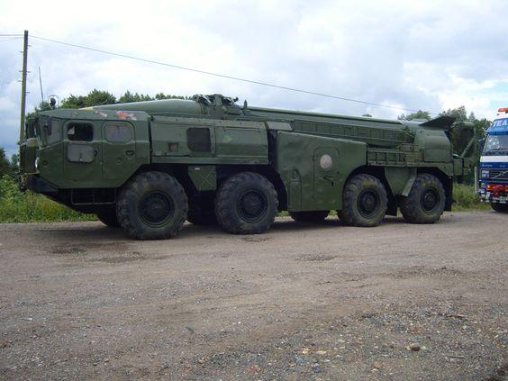 Maz543 Scud-B Launcher