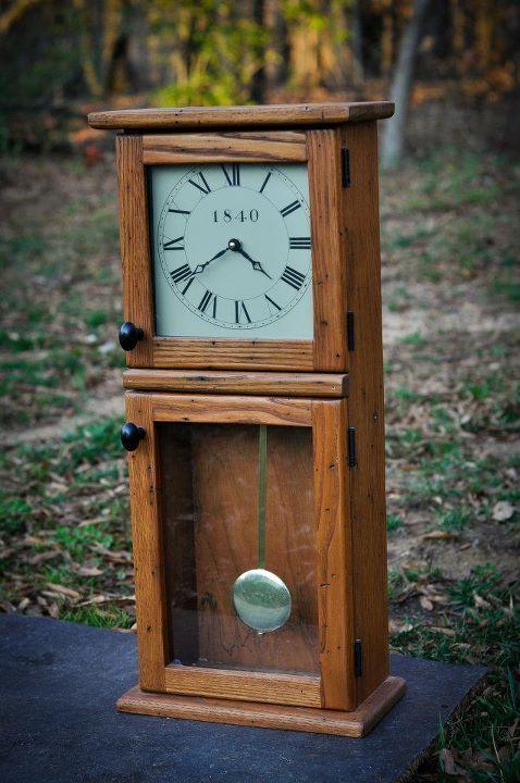 Pin By Renee S World On Woodcraft Craftsman Clocks Wood Clocks Clock