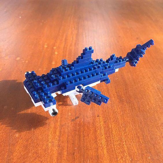 #nanoblock #hammerhead #shark