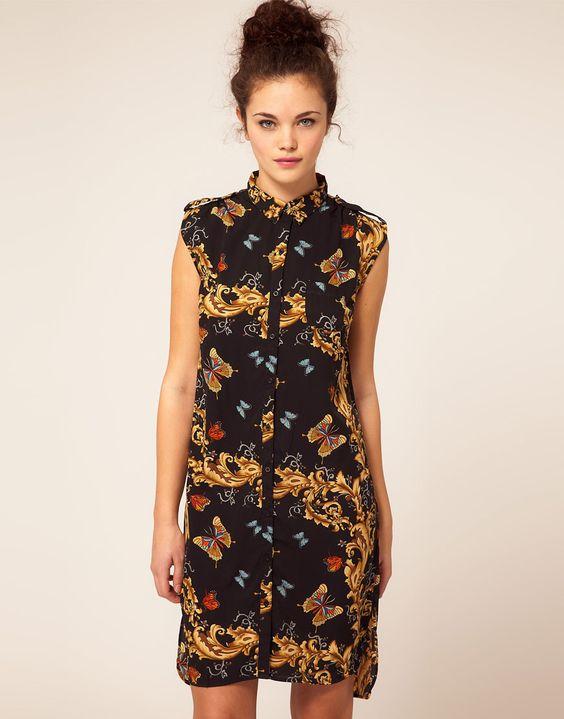 ASOS Shirt Dress. Easy Summer Go-To.