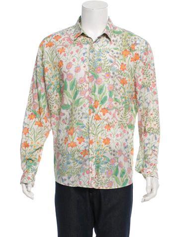 Gucci Flora Button-Up Shirt