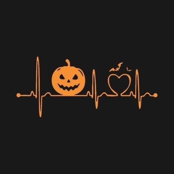 Halloween Vinyl 2020 Halloween Heartbeat ❤️🎃👻 in 2020 | Halloween tshirts