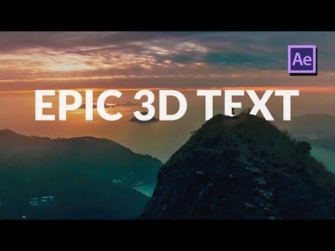 Track 3d Titles In Your Scene In After Effects Tutorial Learn