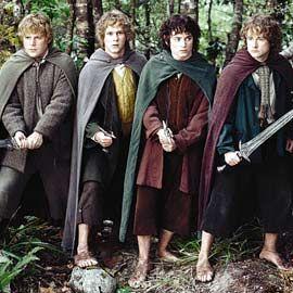 The Lord of the Rings, The Lord of the Rings: The Fellowship of the Ring   JOLLY GOOD 'FELLOWSHIP' Short subjects Sean Astin, Dominic Monagh...