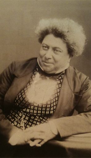 Alexandre Dumas a great French author 07-24-1802 to 12-05-1870. Son of General Thomas Alexandre Dumas (the first General of color in the French Military)