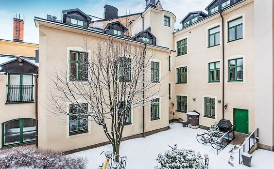 #garden #exterior  Kriebsensgatan 12, Eskilstuna | Bostadsrättslägenhet | SkandiaMäklarna