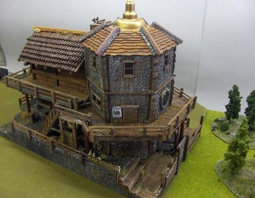 Supply House Casas En Miniatura Arquitectura Castillo De Fantasia