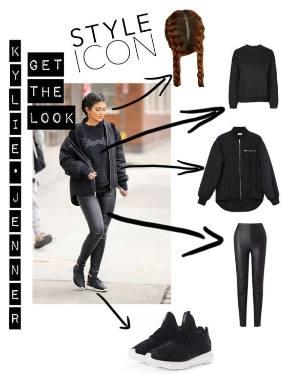 """""""#32 get the look: Kylie Jenner"""" by ruby-darke on Polyvore featuring Ivy Park, Somerset by Alice Temperley, adidas Originals and Nomia"""