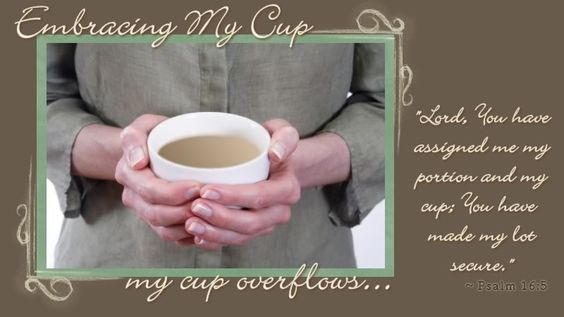Embracing my Cup...encouragement for mommies ♥