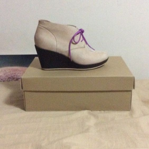 Cole Haan Wedge Worn once. Looks like New. Still with a box. Cole Haan Shoes Wedges