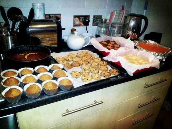 Christmas baking creations