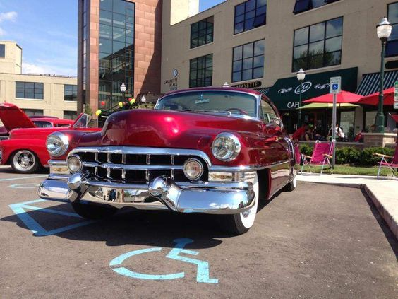 Clean '52 Caddy turns heads, including Chubby Checker's