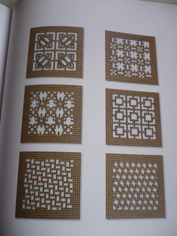 Carton perforé répertoire des motifs de Véronique Maillard   Sakarton