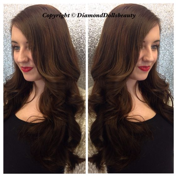 Pretty weave by Diamond dolls beauty using beautyworks hair