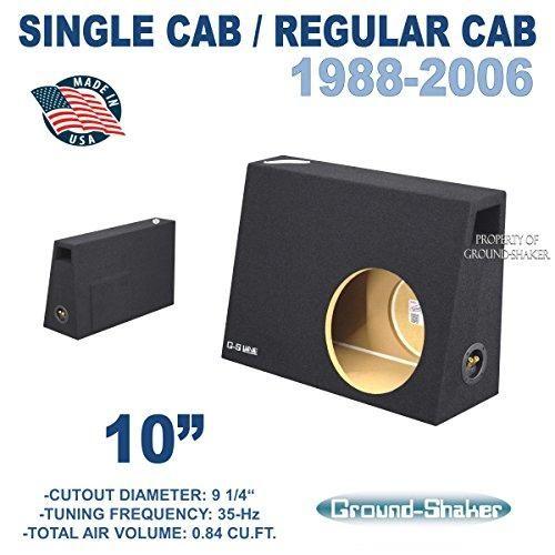 Fits Regular Cab Regular Cab Trucks 10 Single Ported Sub Box Ct Sounds Speaker Box Design Subwoofer Box Sub Box Design
