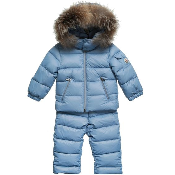 Moncler Light Blue 'Mauger' 2 Piece Baby Snow Set at Childrensalon.com | LC Boys Clothing and Gifts | Pinterest | Moncler and Boy clothing