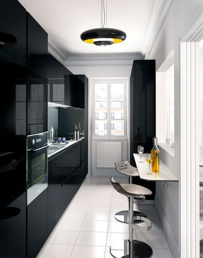 Pi ces de monnaie cuisine and visages on pinterest for Idee amenagement cuisine couloir