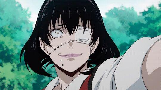 Psychotic Anime Character Of The Day Midari Ikishima Anime Kakegurui Compulsive Gambler Looking For Anime Reviews Li Anime Characters Anime Anime Nerd