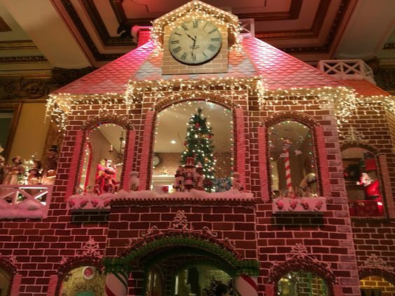 Gingerbread House at the Fairmont