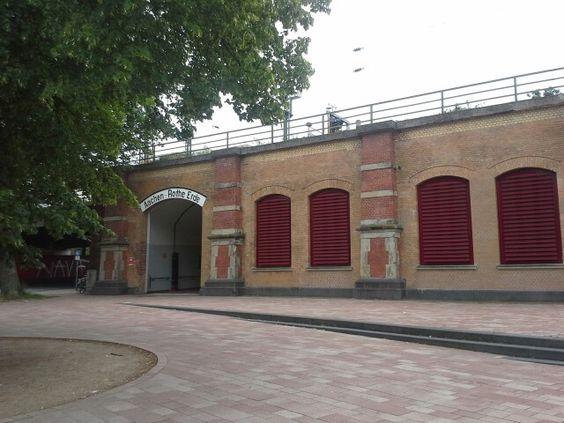 """Start bij """"Bahnhof Rote Erde"""""""