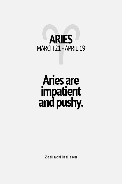 yes, yes we are. #aries
