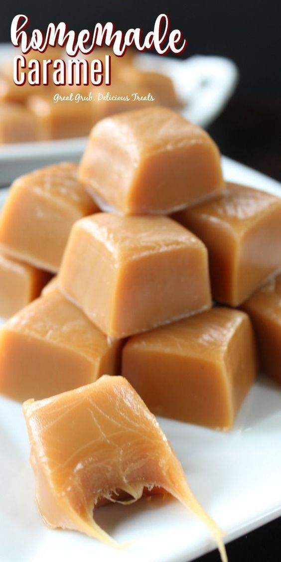 Homemade Caramel - Great Grub, Delicious Treats