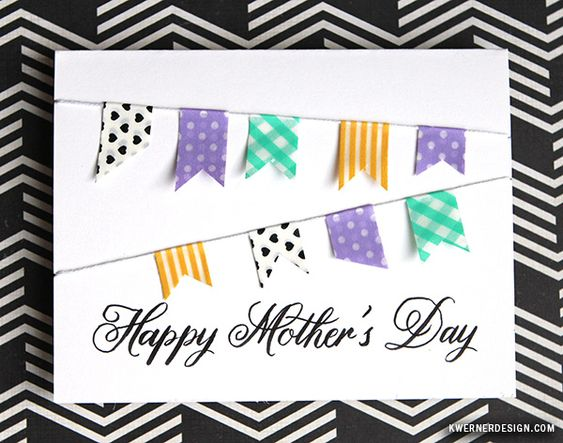 Simple DIY Mother's Day Card - No stamping!