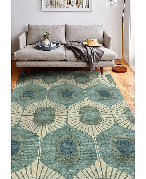 Bb Rugs Alistar Ali 103 5 X 7 6 Rugs In Living Room Mid Century Modern Rugs Living Room Decor Modern
