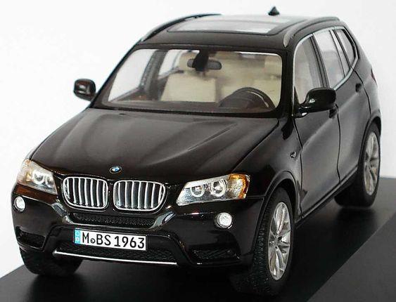 Schuco F25 BMW X3 xDrive28i (Dealer Edition) - Black Sapphire