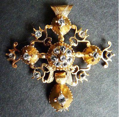 Croix normande - Bijou ancien début 19e siècle