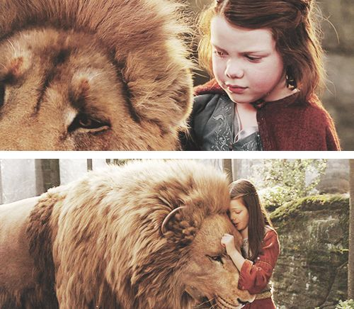 """I brought you to Narnia so that by knowing me here for a little while, you would know me better there."""