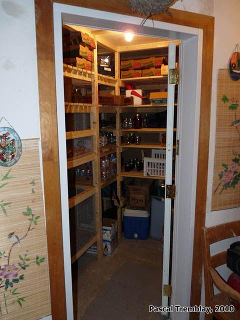 Réalisation d'une Chambre Froide - Conservation des aliments - Pièces de la maison. Instructions: http://www.france-jardinage.com/chambre-froide/chambre-froide-2.html