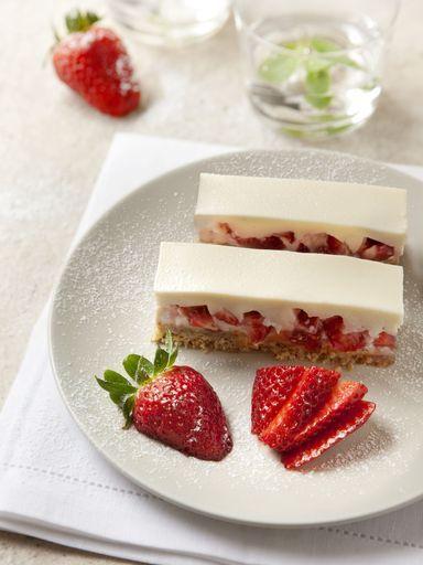 Terrine fraise chocolat blanc recette biscuits - Cuisine uretre et dessert ...