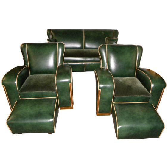 Art deco sofa unique art and art deco on pinterest for Unique modern furniture
