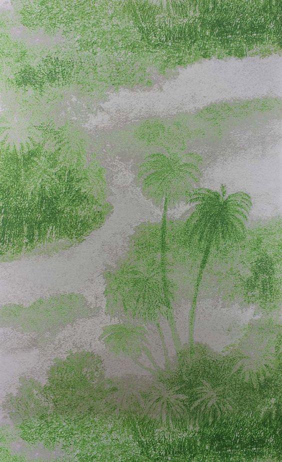 Papier peint Cocos