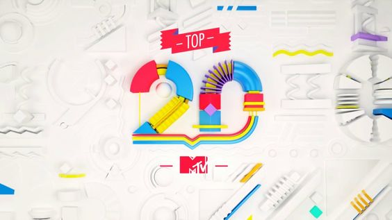 MTVHD TOP20. My Role: Creative Direction,  Led Art Director.  Concept: Barria, PesLAB.  Design and Animation: PesLAB. Animation Director: Pe...