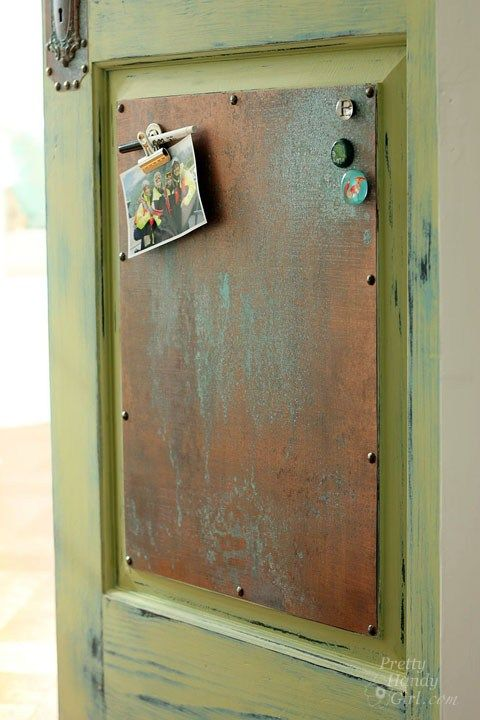Inexpensive Faux Copper And Patina Patina Metal Painting Metal Doors Copper Paint