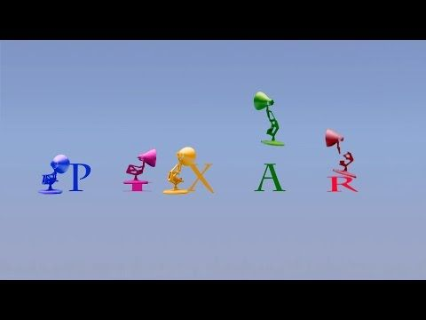 133 Five Colors Pixar Lamps Luxo Jr Logo Spoof Colors Pixar Logo Youtube Pixar Lamp Spoofs Pixar