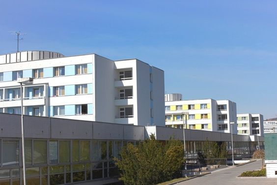 Block A1 with international atmosphere - most of international students stay there!