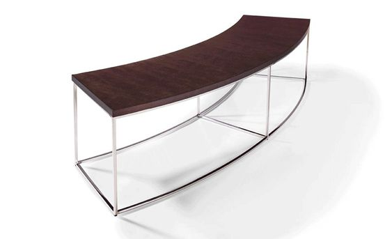 Curved Sofa Table By Milio Baughman From Thayer Coggin Curved Table Curved Sofa Sofa Table