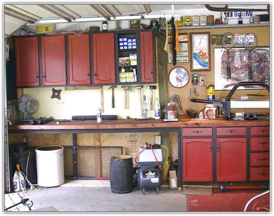 Install kitchen cabinets in garage garage paradise for Kitchen units in garage