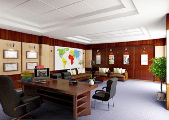 Tư vấn thiết kế phòng làm việc hiện đại và sang trọng cho lãnh đạo: