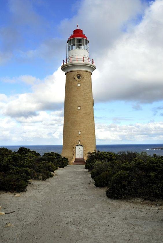 The Cape du Couedic Lighthouse , Kangaroo Island, South Australia.