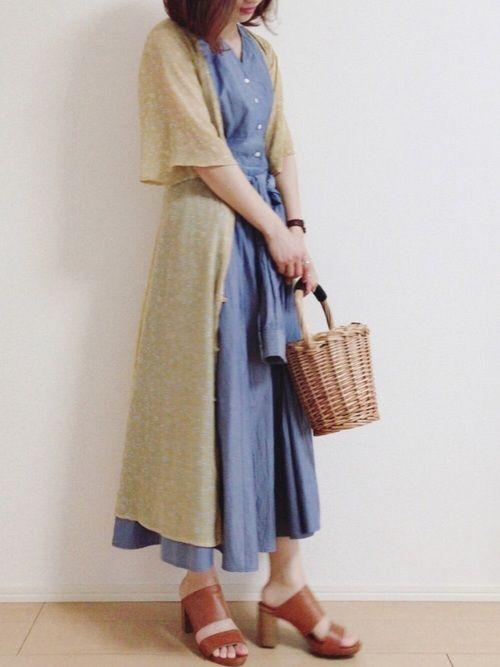 miku the virgniaのシャツワンピースを使ったコーディネート wear ファッション ワンピ ファッションコーディネート