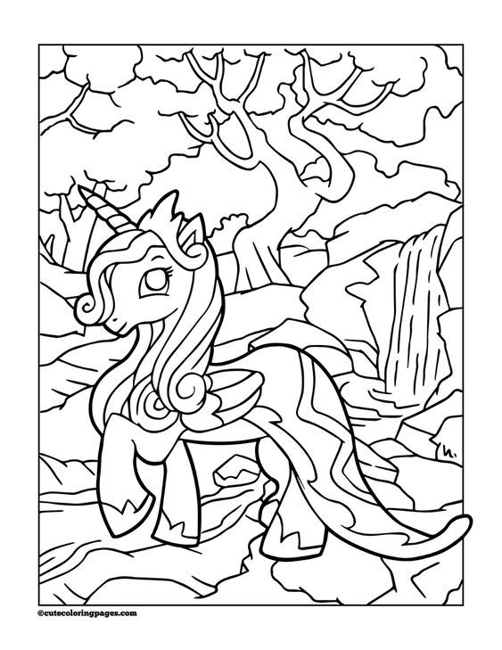 Unicorn Coloring Pages In 2020 Ausmalbilder Ausmalen Kostenlose Ausmalbilder